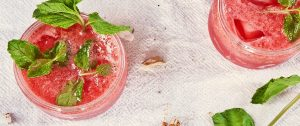 roter Sommersmoothie